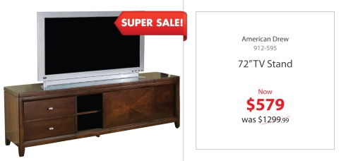 "AD 72"" Tv Stand"