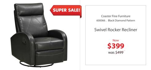CoasterSwival Rocker  Recliner