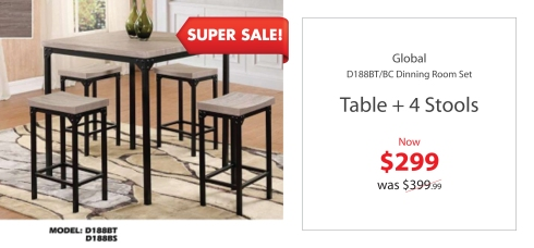 Global Dining Room Set