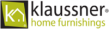 logo Klaussner home furnishings